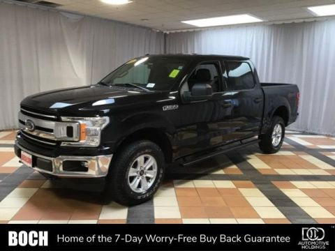 Pre-Owned 2018 Ford F-150 XLT 4WD SuperCrew 5.5' Box 4WD