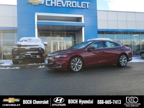 Pre-Owned 2016 Chevrolet Malibu Premier With Navigation