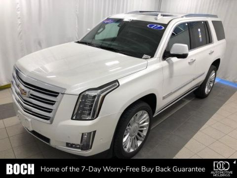 Pre-Owned 2017 Cadillac Escalade 4WD 4dr Platinum 4WD