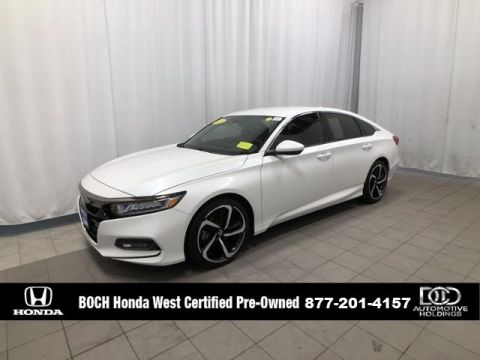 Pre-Owned 2018 Honda Accord Sport 1.5T CVT FWD 4dr Car