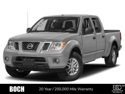 New 2019 Nissan Frontier Crew Cab 4x4 SV Auto 4WD