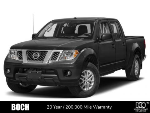 New 2019 Nissan Frontier Crew Cab 4x4 SV Auto *Ltd Avail* 4WD