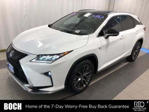 Pre-Owned 2016 Lexus RX 450h AWD 4dr F Sport With Navigation & AWD
