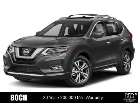 New 2019 Nissan Rogue AWD SL With Navigation & AWD