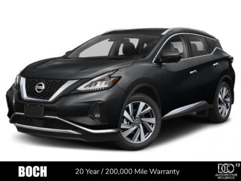 New 2019 Nissan Murano AWD SL With Navigation & AWD