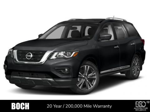 New 2020 Nissan Pathfinder 4x4 Platinum With Navigation & 4WD