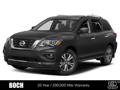 New 2019 Nissan Pathfinder 4x4 SL With Navigation & 4WD