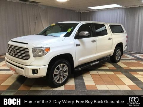 Pre-Owned 2015 Toyota Tundra CrewMax 5.7L V8 6-Spd AT Platinum 4WD