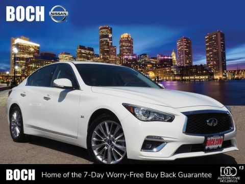 Pre-Owned 2019 INFINITI Q50 3.0t LUXE AWD With Navigation & AWD