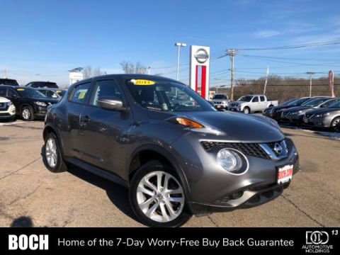 Certified Pre-Owned 2017 Nissan JUKE AWD S AWD